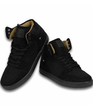 Cash M Heren Schoenen - Heren Sneaker High - Riff Black