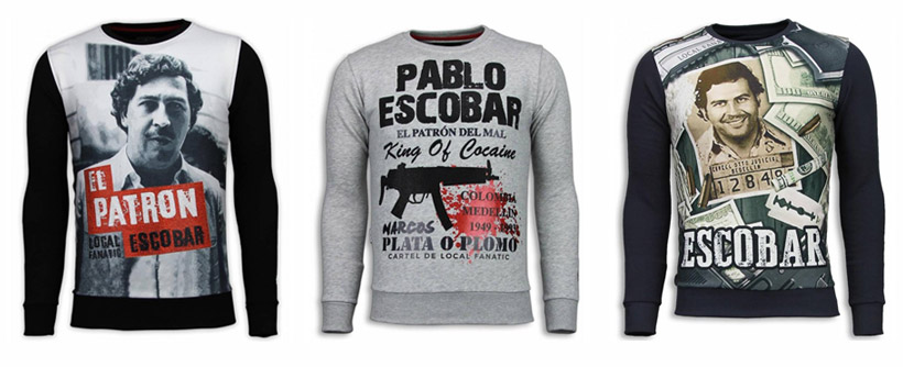 Sweaters Pablo Escobar