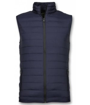 Y chromosome Bodywarmer Heren - Casual Bodywarmer - Blauw