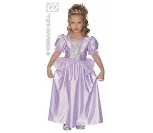 Baby feestkleding kinderen: Paarse prinses