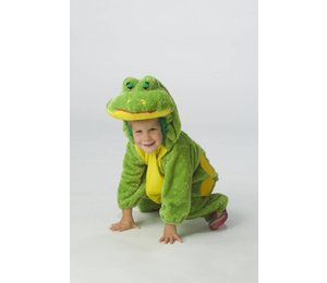 Baby feestkleding kinderen: Kikker knuffelpluche
