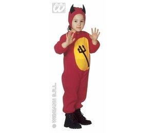 Babyfeestkleding kinderen: duivel