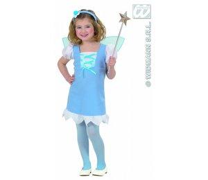 Babyfeestkleding kinderen: Pixie roze of blauw