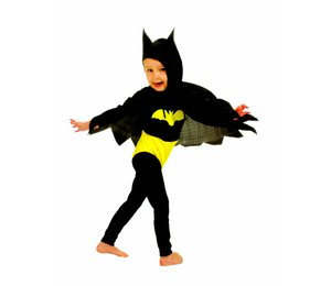 Feestkleding kinderen: Baby-Batman