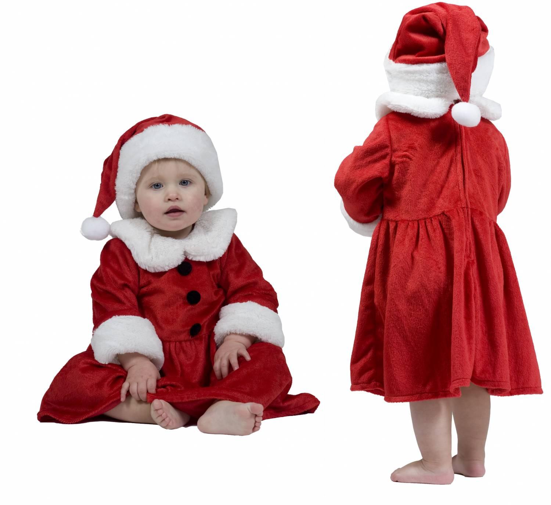 kerst baby jurk