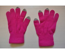 Touch Screen gloves Pink