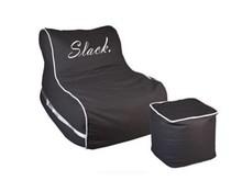 Slack Flow Lounge stoel + voetenbank