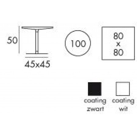 Tafelonderstel DMS2380