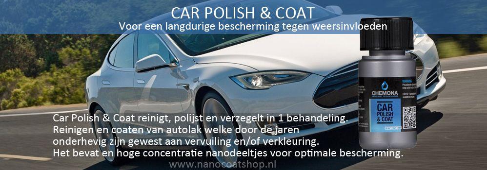 Car Polish & Coat - voor een langdurige bescherming