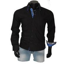 Arya Boy Italiaanse overhemden - Zwart