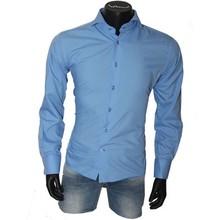 Arya Boy italiaanse overhemden - Blauw