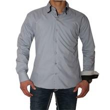 Arya Boy Heren overhemd - Antraciet