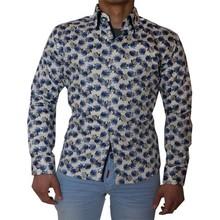 Wam Denim Italiaanse overhemden - Bedrukt