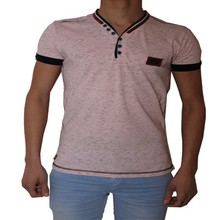 Wam Denim Heren T-Shirt - Roze