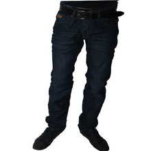 Wam Denim Italiaanse heren jeans - Donkerblauw (Slim-Fit)