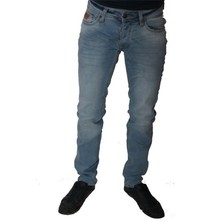Wam Denim Italiaanse heren jeans - Lichtblauw (Slim-Fit)
