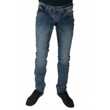 Wam Denim Italiaanse heren jeans - Blauw (Slim-Fit)