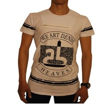 Wam Denim Heren T-Shirt - Wit