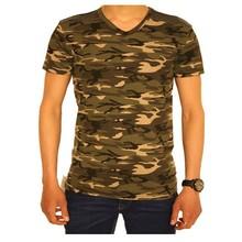 Megaman Heren T-Shirt - Camouflage