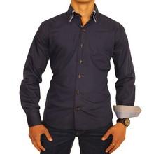 Arya Boy Italiaanse overhemden - Donkerblauw