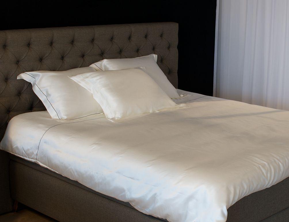 Zijden dekbedovertrek  luxe en comfort   Silk Heaven