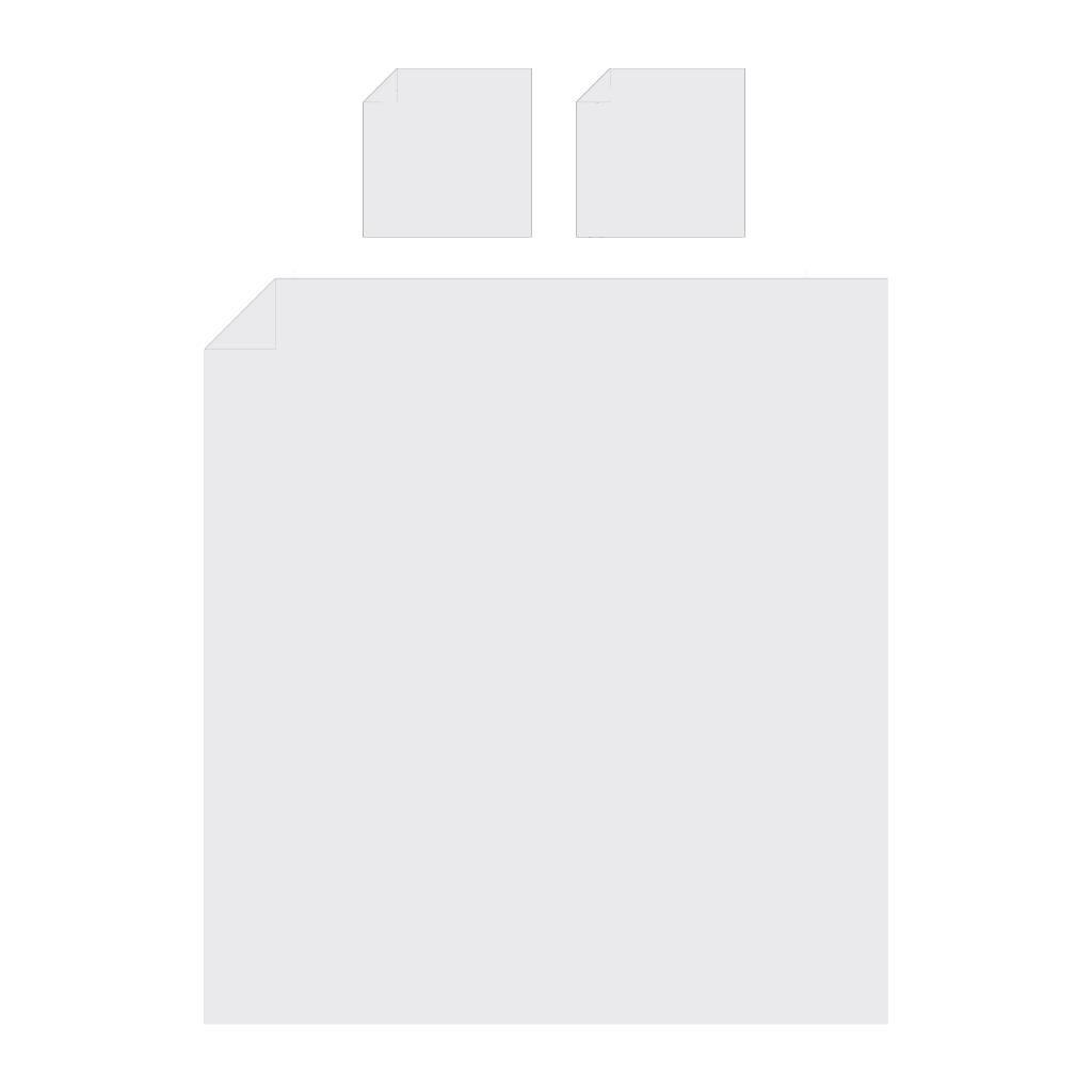 Emperior Zijden dekbedovertrek Verdi- 22 momme Ivoor