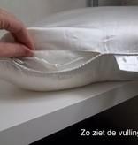 Emperior Zijden hoofdkussen Muze -  100% moerbeizijde/tijk zijde