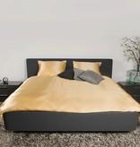 Silk Heaven Zijden dekbedovertrek Gold Delight 240x220+ gratis service set