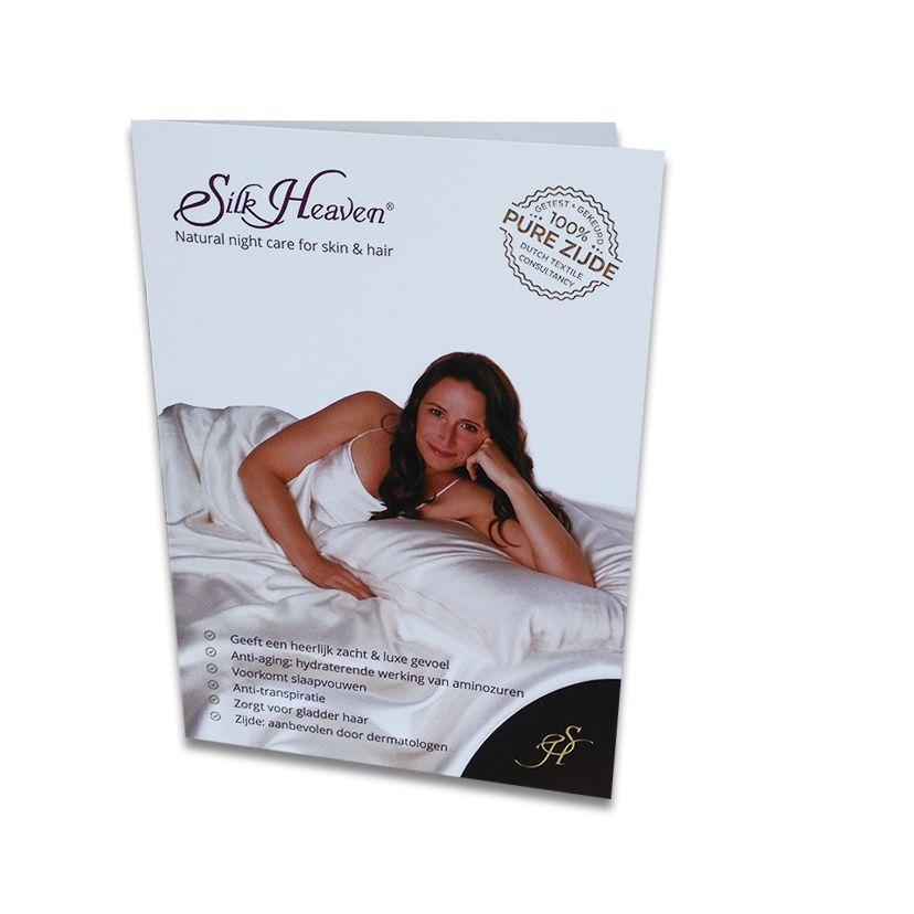 Gratis Brochure over zijden kussensloop