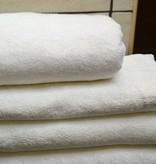 Bamboe handdoek 70x140cm Biologisch & Fairtrade - Ivoor/ Set van 2