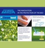 Cleanbed Tencel® hoeslaken matrasbeschermer Exclusief- 1 Persoons/ Set van 2