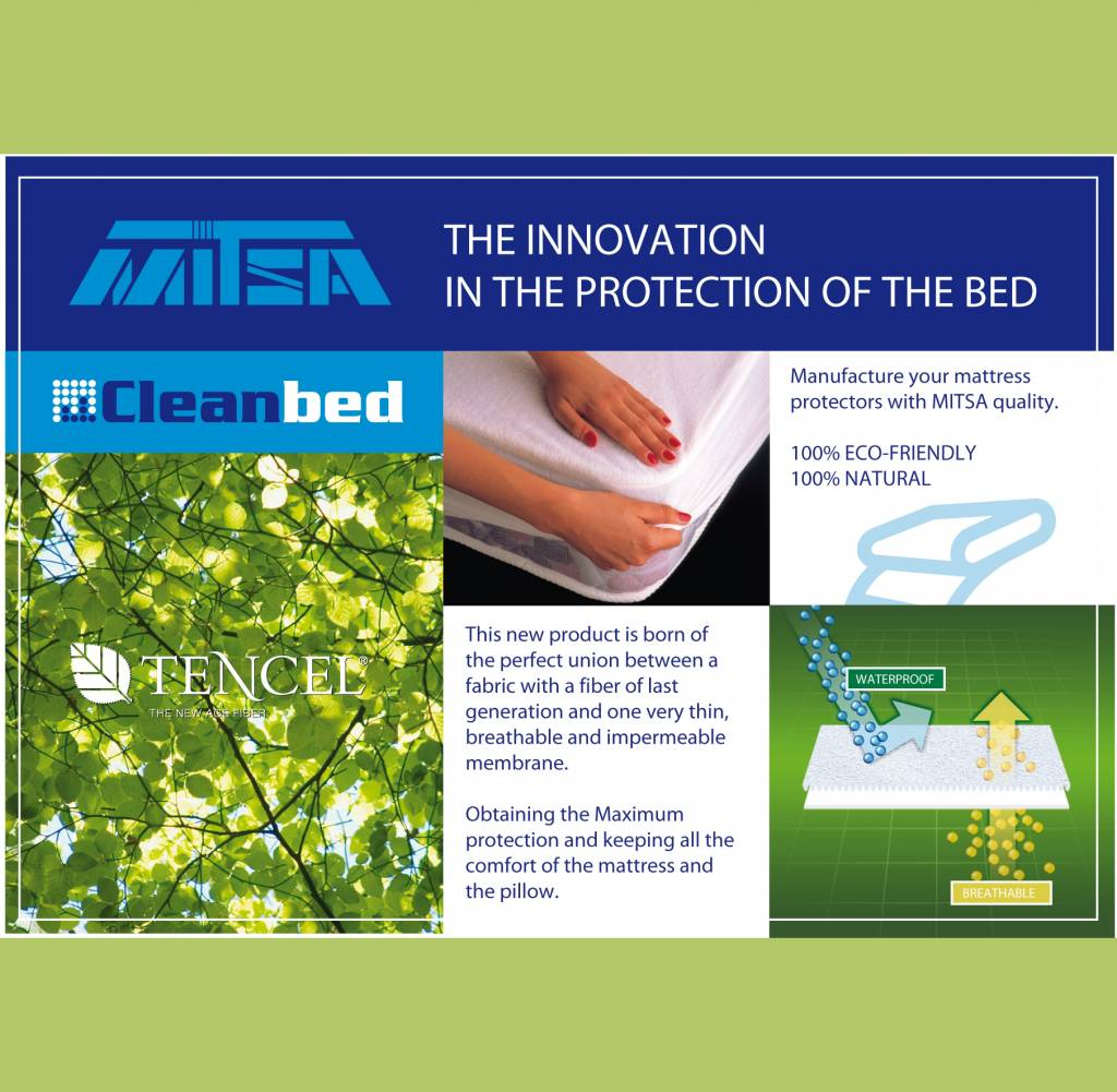 Jeannette Vite Tencel® hoeslaken matrasbeschermer - Wit