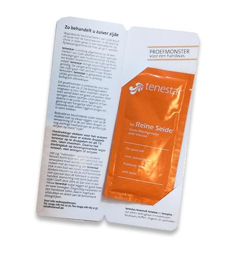 Zijdewasmiddel proef sachet Tenestar  (25ml)