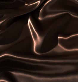Silk Heaven Zijden dekbedovertrek Chocolat + gratis service set