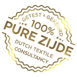 Silk Heaven Zijden dekbedovertrek Honing + gratis service set