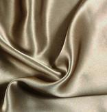 Silk Heaven Zijden dekbedovertrek Classic Gold + gratis service set