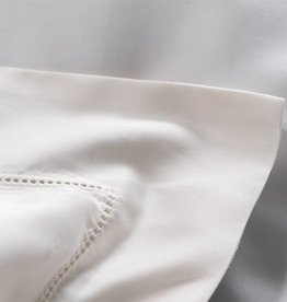 Lysdrap Dekbedovertrek Egyptisch katoen Apertio - Wit