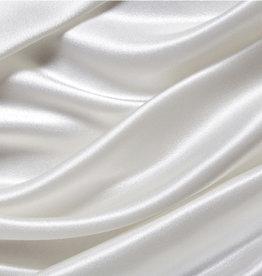 Silk Heaven Zijden hoeslaken voor toppers- 19 momme - Ivoor