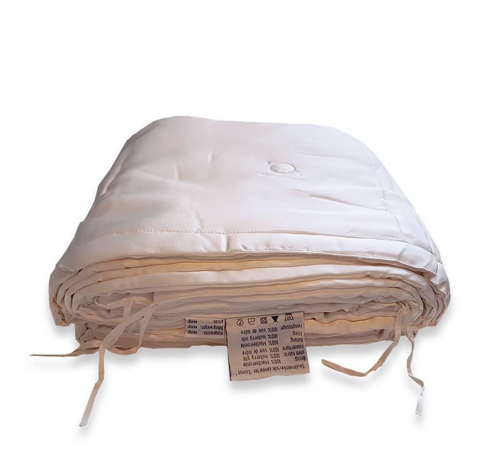 Sichou 100% Zijden zomerdekbed Luxus (175g/m2) - zijden tijk/ wasbaar