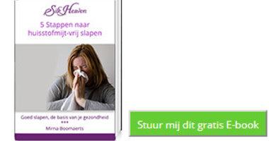 Gratis E-book huisstofmijt allergie