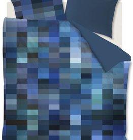 Beddinghouse Tangle Lakes Blauw - Dekbedovertrek
