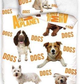 Animal Planet, Honden - Dekbedovertrek