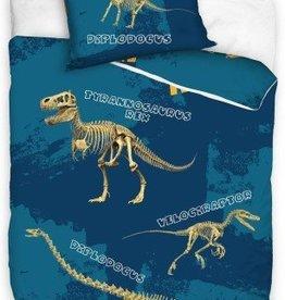 Animal Planet, Dino Skeleton - Dekbedovertrek