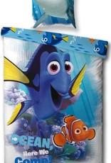 Disney Finding Dory, Nemo - Dekbedovertrek (140x200cm)