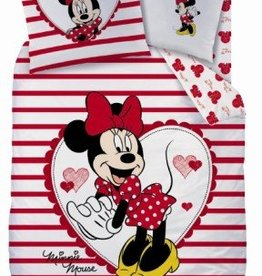 Disney Minnie Mouse, Streep - Dekbedovertrek