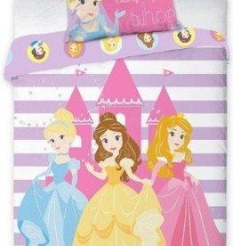 Disney Princess, Ledikant Kasteel - Dekbedovertrek