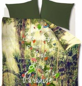 Beddinghouse Paradise Groen - Dekbedovertrek