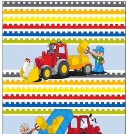 Lego Duplo Blocks - Dekbedovertrek