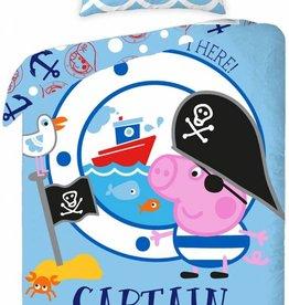 Peppa Pig, Captain - Dekbedovertrek