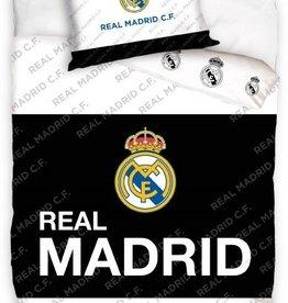 Real Madrid, Wit/Zwart - Dekbedovertrek